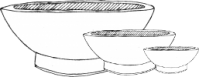 Diagram of Ceremonial Bowl with a Circular Foot